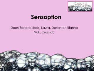 Sensoption