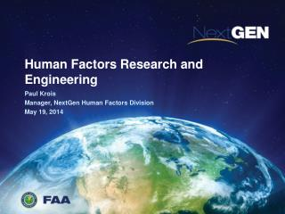 Human Factors Research and Engineering