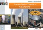 Stainless Steel an Essential in  Nuclear Energy