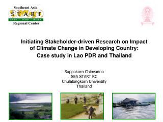 Initiating Stakeholder-driven Research on Impact of Climate Change in Developing Country: