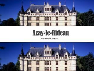 Azay -le-Rideau