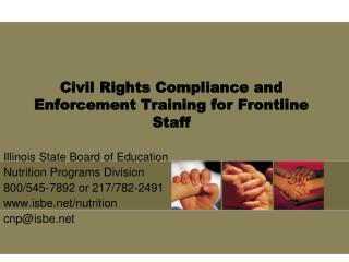 Civil Rights Compliance and Enforcement Training for Frontline Staff