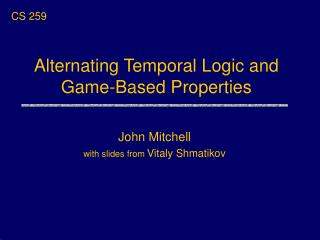 Alternating Temporal Logic and Game-Based Properties