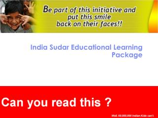 India Sudar Educational Learning Package