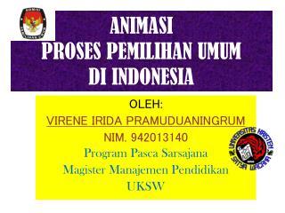 ANIMASI PROSES PEMILIHAN UMUM DI INDONESIA