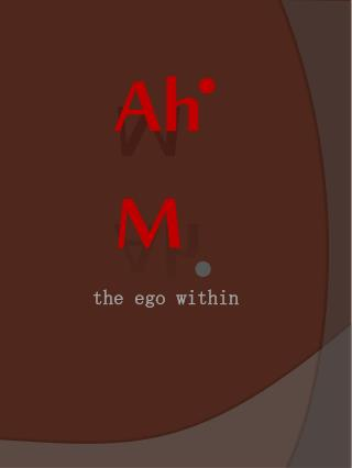 the ego within