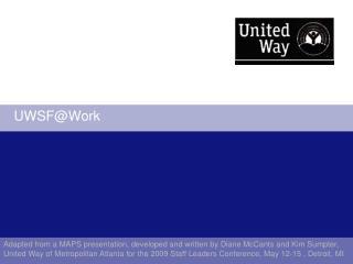UWSF@Work