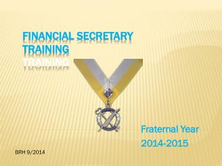 Financial Secretary Training Training