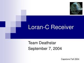 Loran-C Receiver