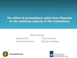 The effect of stratospheric sulfur from Pinatubo on the oxidizing capacity of the troposphere