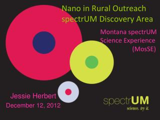 Nano in Rural Outreach spectrUM Discovery Area
