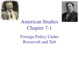 American Studies  Chapter 7-1