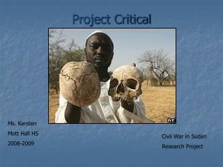Project Critical