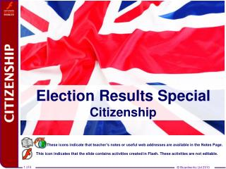 Election Results Special Citizenship