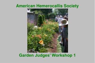 American Hemerocallis Society