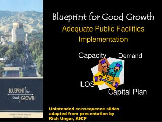 Blueprint for Good Growth Adequate Public Facilities  Implementation