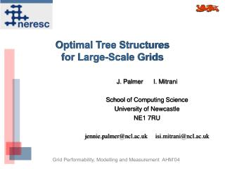 Optimal Tree Structures  for Large-Scale Grids