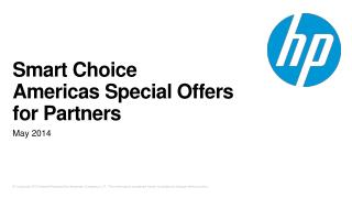 Smart Choice  Americas Special  Offers for Partners