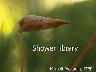 Shower library