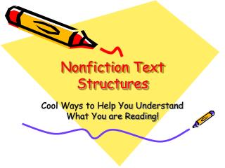 Nonfiction Text Structures