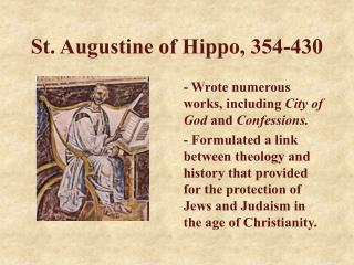 St. Augustine of Hippo, 354-430