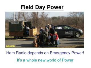 Field Day Power