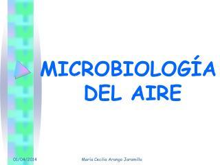 MICROBIOLOGÍA  DEL AIRE