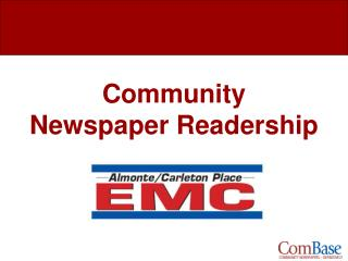 Community Newspaper Readership