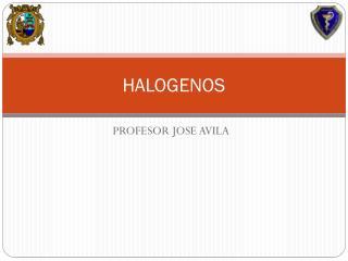 HALOGENOS
