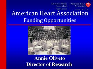 American Heart Association Funding Opportunities