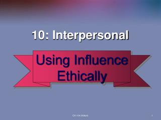 10: Interpersonal
