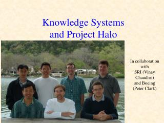 Knowledge Systems  and Project Halo