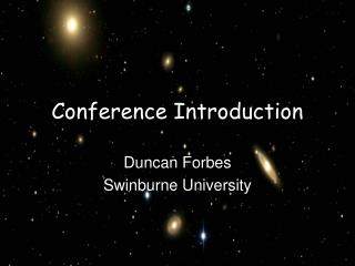 Conference Introduction