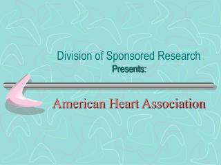 Division of Sponsored Research Presents: