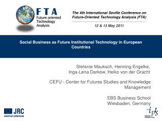 Social Business as Future Institutional Technology in European Countries