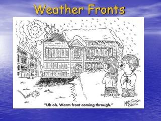 Weather Fronts