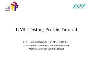 UML Testing Profile Tutorial
