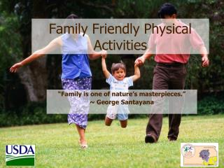 Family Friendly Physical Activities