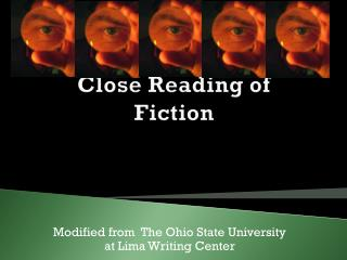 Close Reading of Fiction
