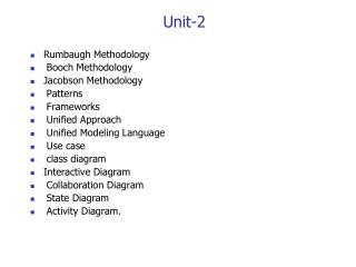 Unit-2