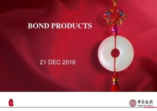 BOND PRODUCTS