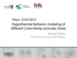 Hygrothermal behavior modeling of different Lime-Hemp concrete mixes