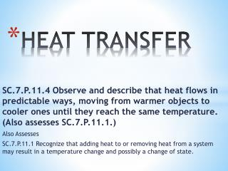 PPT - HEAT TRANSFER PowerPoint Presentation - ID:6194544