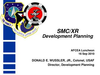 SMC/XR Development Planning