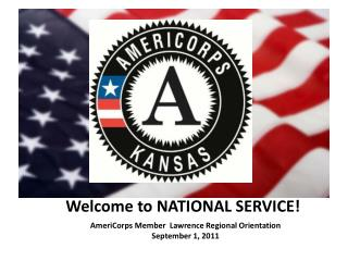Welcome to NATIONAL SERVICE!