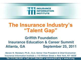 "The Insurance Industry's ""Talent Gap"""