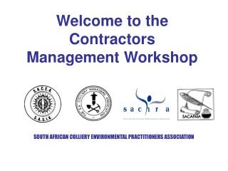 Welcome to the Contractors Management Workshop