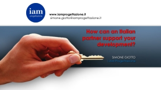 How can an Italian partner support your development?