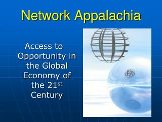 Network Appalachia