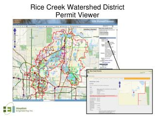 Rice Creek Watershed District  Permit Viewer